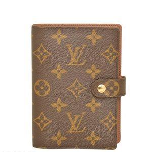 Louis Vuitton Monogram Agenda PM Diary Cover